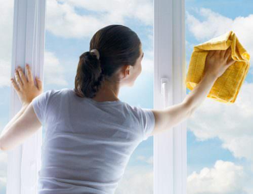 Cum se spala geamurile eficient